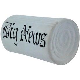 Custom Newspaper Stress Reliever