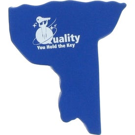 New York Stress Ball Imprinted with Your Logo