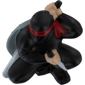 Ninja Stress Reliever Imprinted with Your Logo