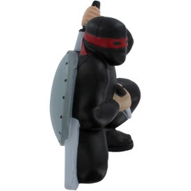 Ninja Stress Reliever with Your Slogan