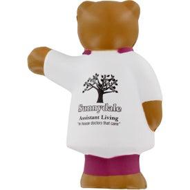Nurse Bear Stress Ball Printed with Your Logo