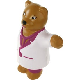 Advertising Nurse Bear Stress Ball