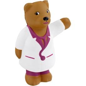 Company Nurse Bear Stress Ball