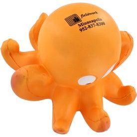 Imprinted Octopus Stress Ball