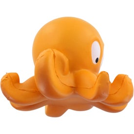 Octopus Stress Ball Printed with Your Logo