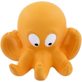 Personalized Octopus Stress Toy