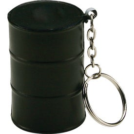 Oil Drum Key Chain Stress Ball for Your Church