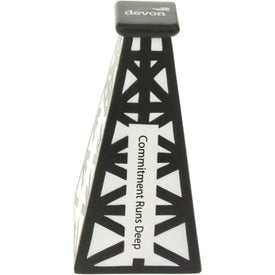 Oil Derrick Stress Ball Branded with Your Logo