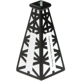 Oil Derrick Stress Ball for Advertising