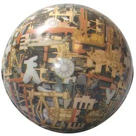 Oil Field Camo Ball Stress Reliever