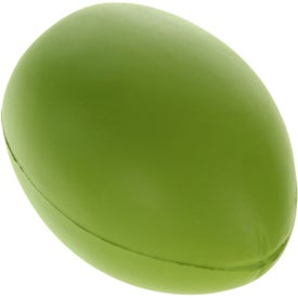 Imprinted Olive Stress Ball
