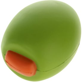 Personalized Olive Stress Ball