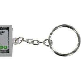 $100 Bill Stress Ball Key Chain Giveaways