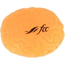 Orange Brain Stress Reliever for Marketing