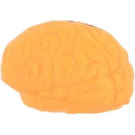 Promotional Orange Brain Stress Reliever