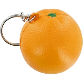 Orange Keychain Stress Toy
