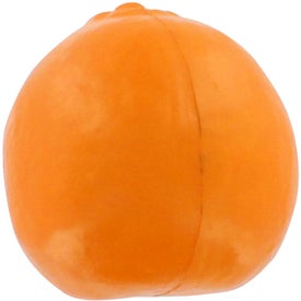 Personalized Tangerine Stress Reliever