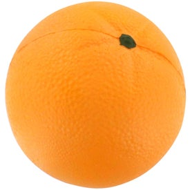 Orange Stress Reliever for Your Company