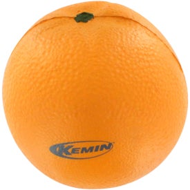 Branded Orange Stress Reliever