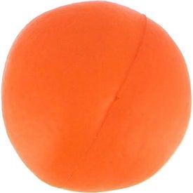 Branded Orange Stress Ball