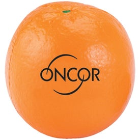 Orange Stress Ball (Economy)