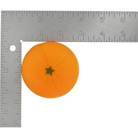 Orange Fruit Stress Ball for Customization