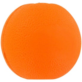Imprinted Orange Fruit Stress Ball