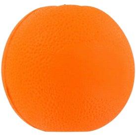 Imprinted Orange Fruit Stress Ball