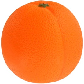 Orange Fruit Stress Ball for Your Company