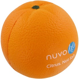Promotional Orange Stress Toy
