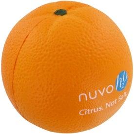 Promotional Orange Stress Toy