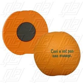 Orange Stress Ball Magnet