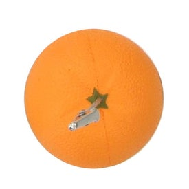 Orange Stress Ball Memo Holder for Your Company