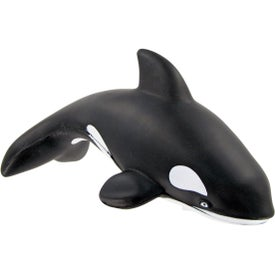 Customized Orca Stress Toy