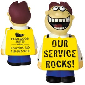 Our Service Rocks Talking Stress Reliever