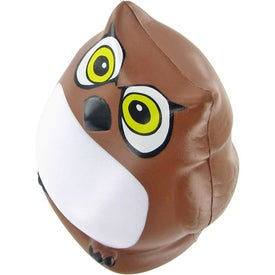 Owl Stress Ball for Your Company
