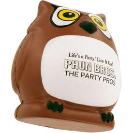 Printed Owl Stress Ball