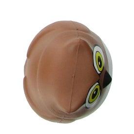 Monogrammed Owl Stress Ball