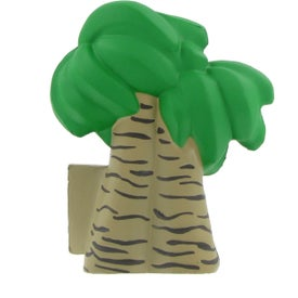 Palm Tree Stress Ball Branded with Your Logo