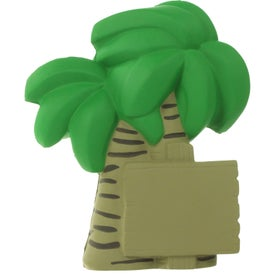 Palm Tree Stress Ball for Your Company
