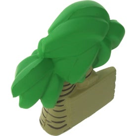 Palm Tree Stress Ball Printed with Your Logo