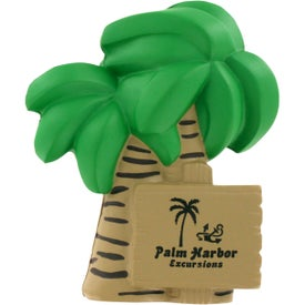 Customized Palm Tree Stress Ball