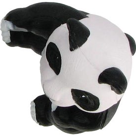 Printed Panda Bear Stress Reliever
