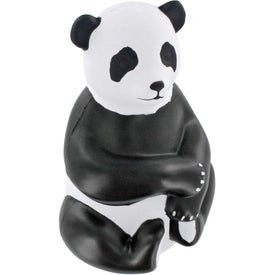 Customized Sitting Panda Stress Ball