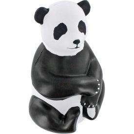 Customized Sitting Panda Stress Ball