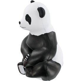 Personalized Sitting Panda Stress Ball