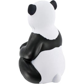 Sitting Panda Stress Ball for Advertising