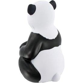 Sitting Panda Stress Ball for Advertising