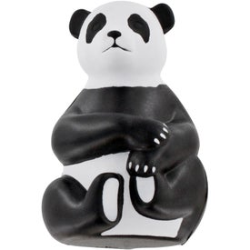 Monogrammed Sitting Panda Stress Ball