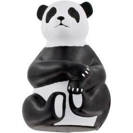 Monogrammed Sitting Panda Stress Ball